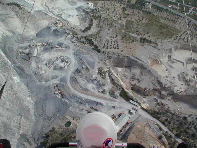 Looking Down on Padul's Quarry