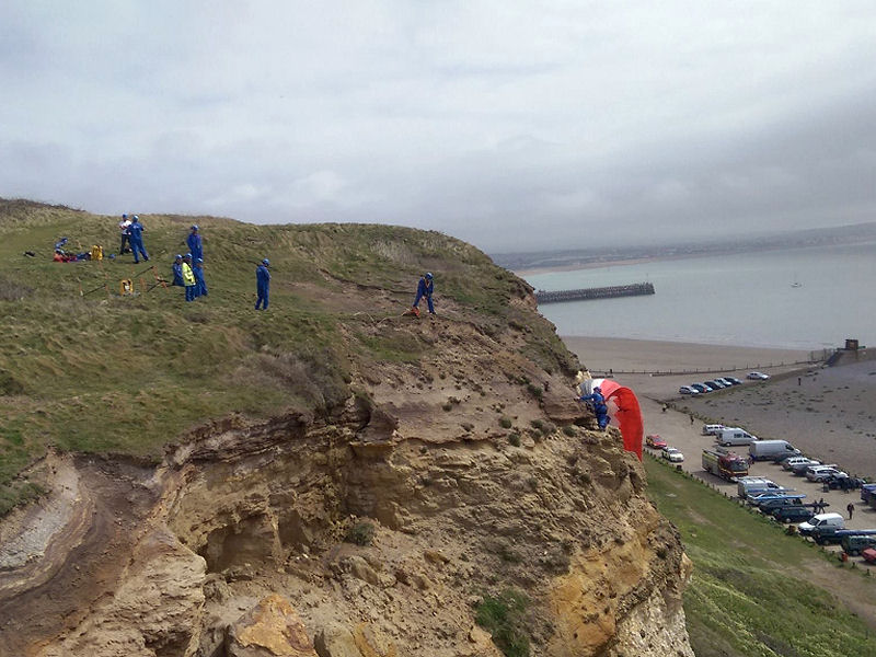 Newhaven Paraglider Crash