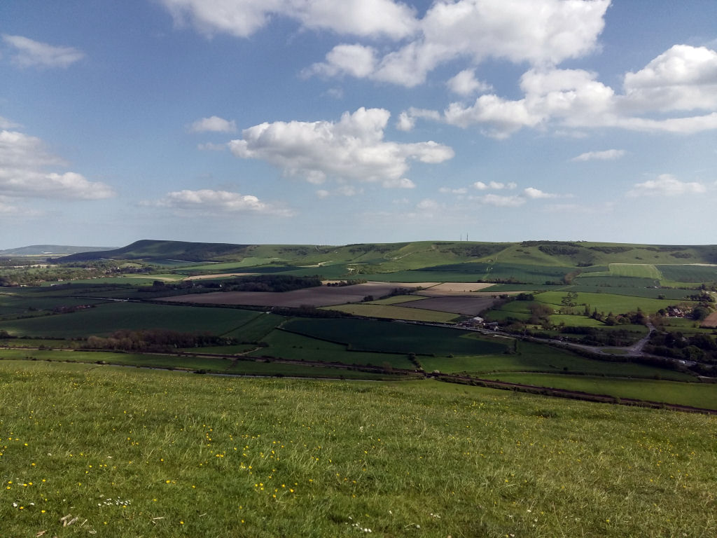 View from Mount Caburn
