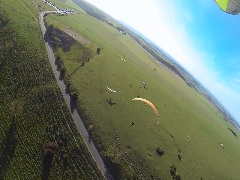 Dan Launching from Firle
