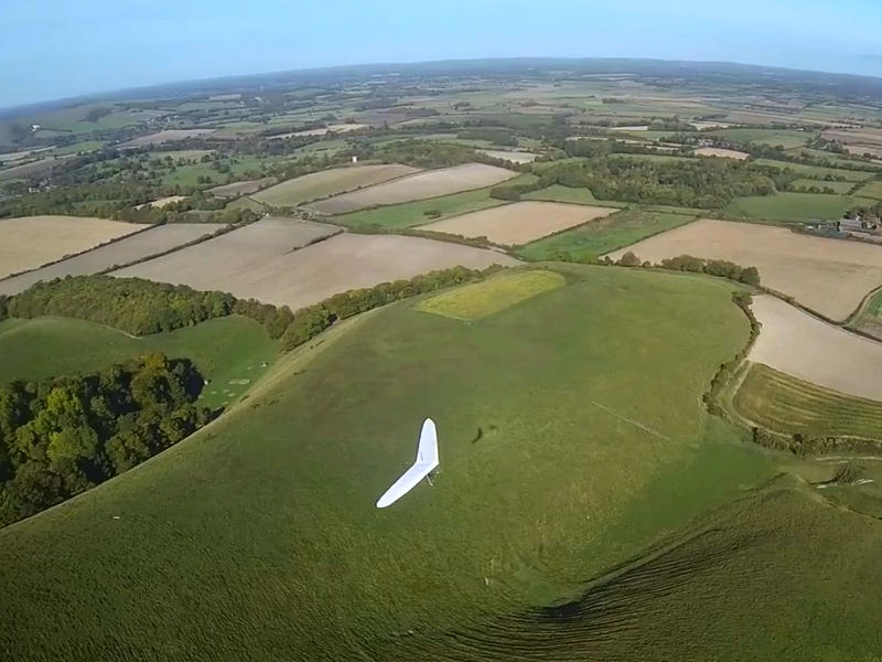 Dan Soaring Firle Beacon