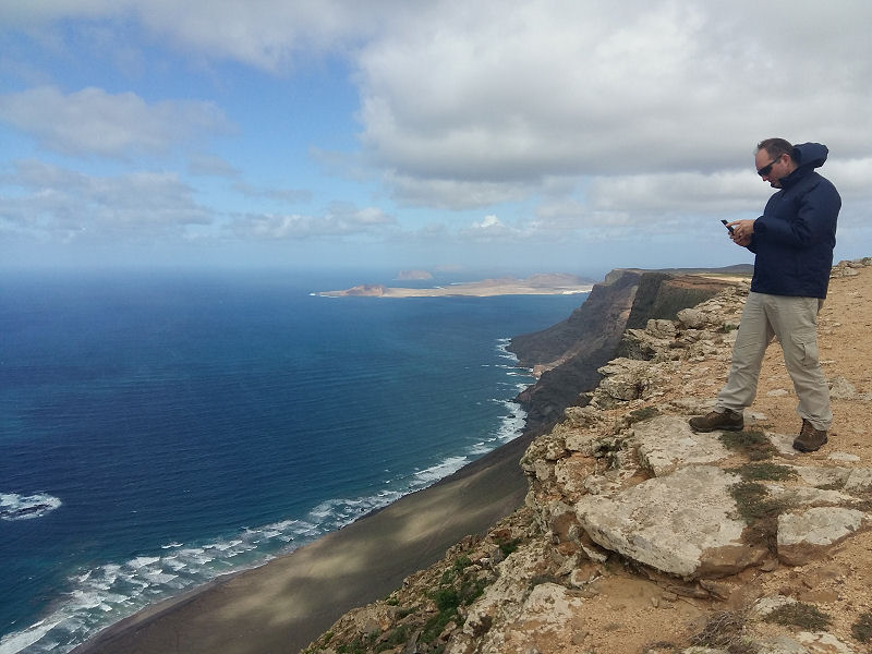 The Famara Cliffs
